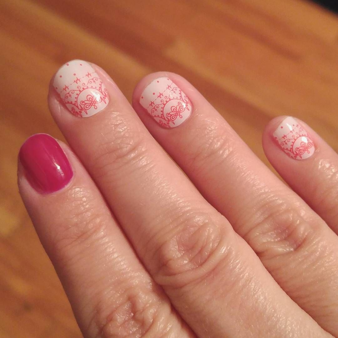 """""""Did my first ever DIY gel manicure last night with my"""