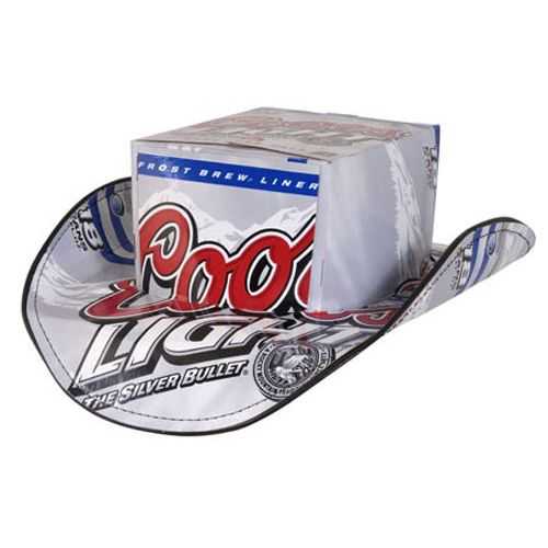 Recycled Beer Box Cowboy Hats - Made From Beer Boxes redneck recycling at  its best 0306a7ac948b