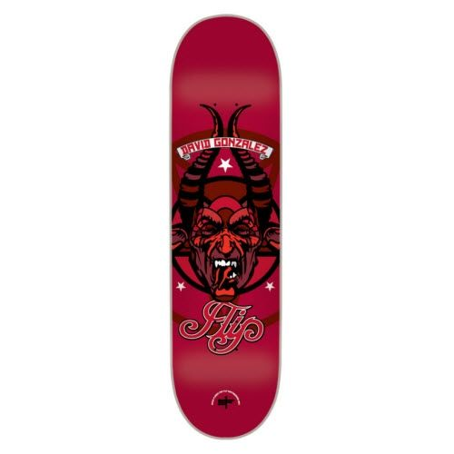 Flipskateboards David Gonzalez Lucifer Skateboard Deck 8x31 5 Flip Skateboards Skateboard Skateboard Companies