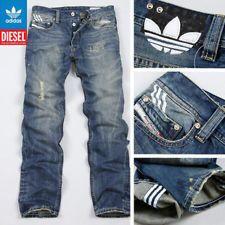 ac6f1d2a BNWT Mens Adidas Diesel Viker Jeans Waist 36 38 40 Leg 34 Button Fly   eBay