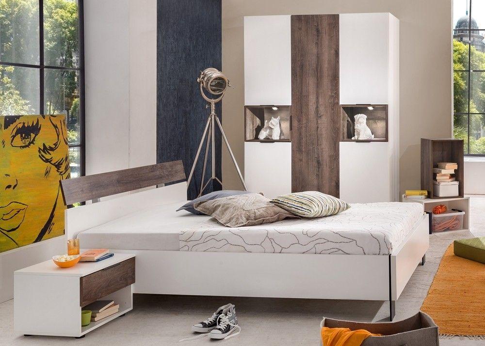 Jugendzimmer komplett Cargo Weiß mit Eiche 10332 Buy now at