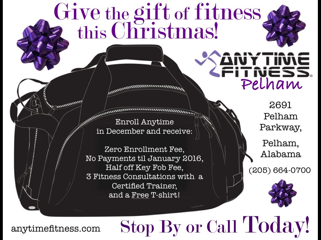Looking For A Great Christmas Gift Great Christmas Gifts Gifts Anytime Fitness