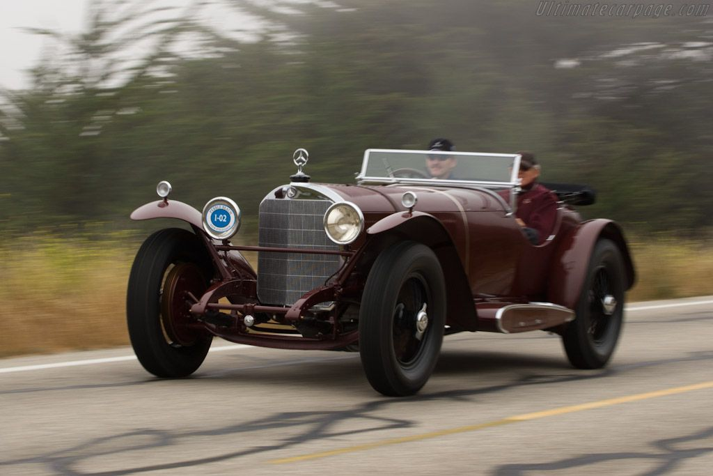 Mercedes-Benz 710 SSK Barker Roadster (Chassis 36242 - 2008 Pebble Beach Concours d'Elegance) High Resolution Image
