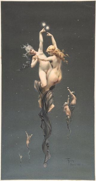 Phrase Elegant nude dancers fantasy art