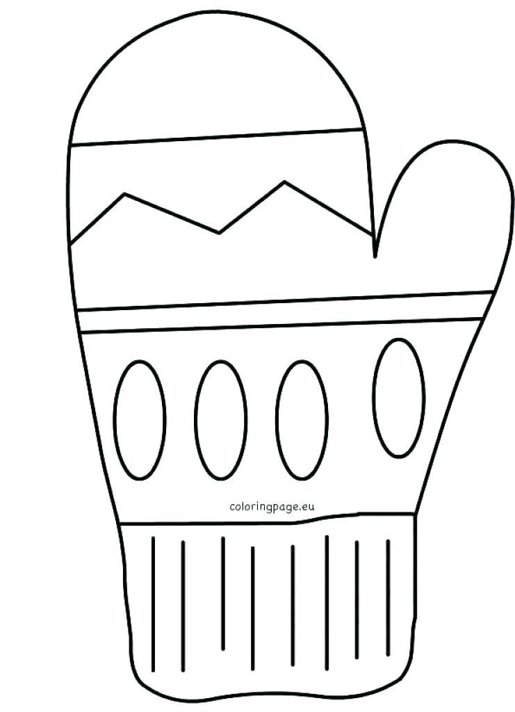 Free Mitten Coloring Sheets The Pages Umbrella Pertaining To Printable Page Coloring Pages Mittens Template Coloring Sheets