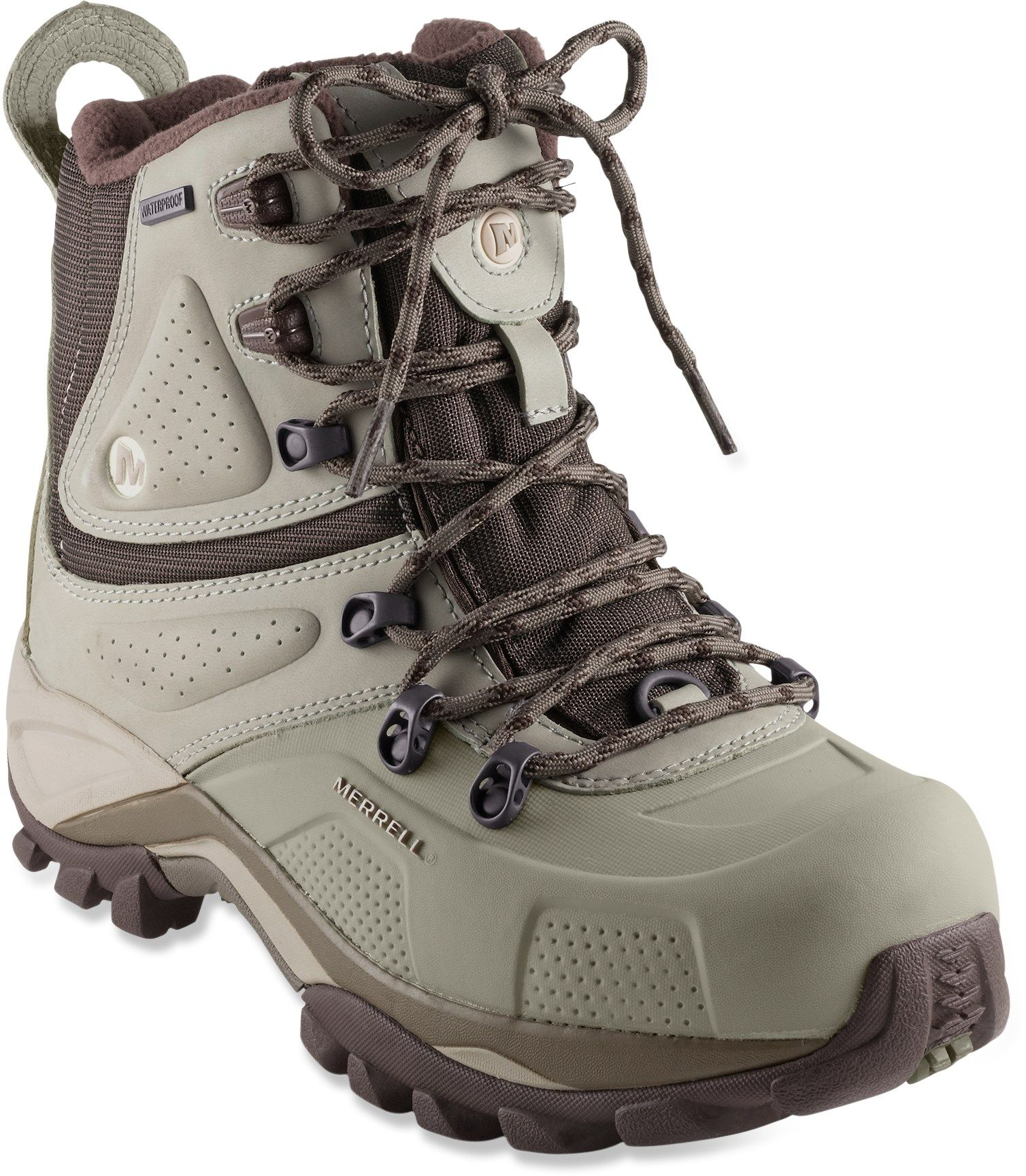 cheap for discount 4c187 9d25f Merrell Whiteout 8 Waterproof Winter Boots - Women s - Free Shipping at  REI.com
