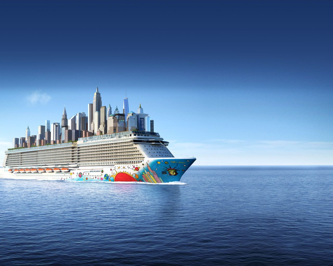 Norwegian Breakaway Cruise Ship Norwegian Cruise Line Travel - Norwegian breakaway cruise ship