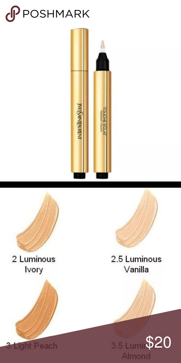 7c3f7556d95 Ysl touche eclat concealer in 2.5 Brand new no box. Shade is 2.5 Yves Saint  Laurent Makeup Concealer