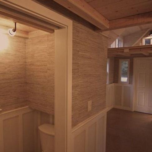Photo of Mobile winzige Hütte 005 Man Builds Mobile winzige Hütte mit Veranda #recre …
