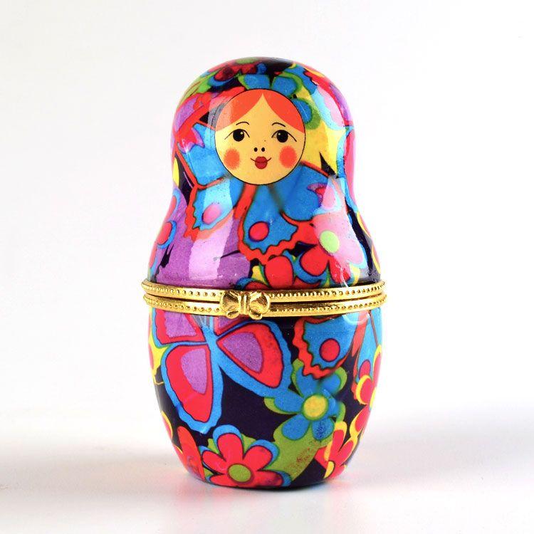 Colorful Nesting Doll Box