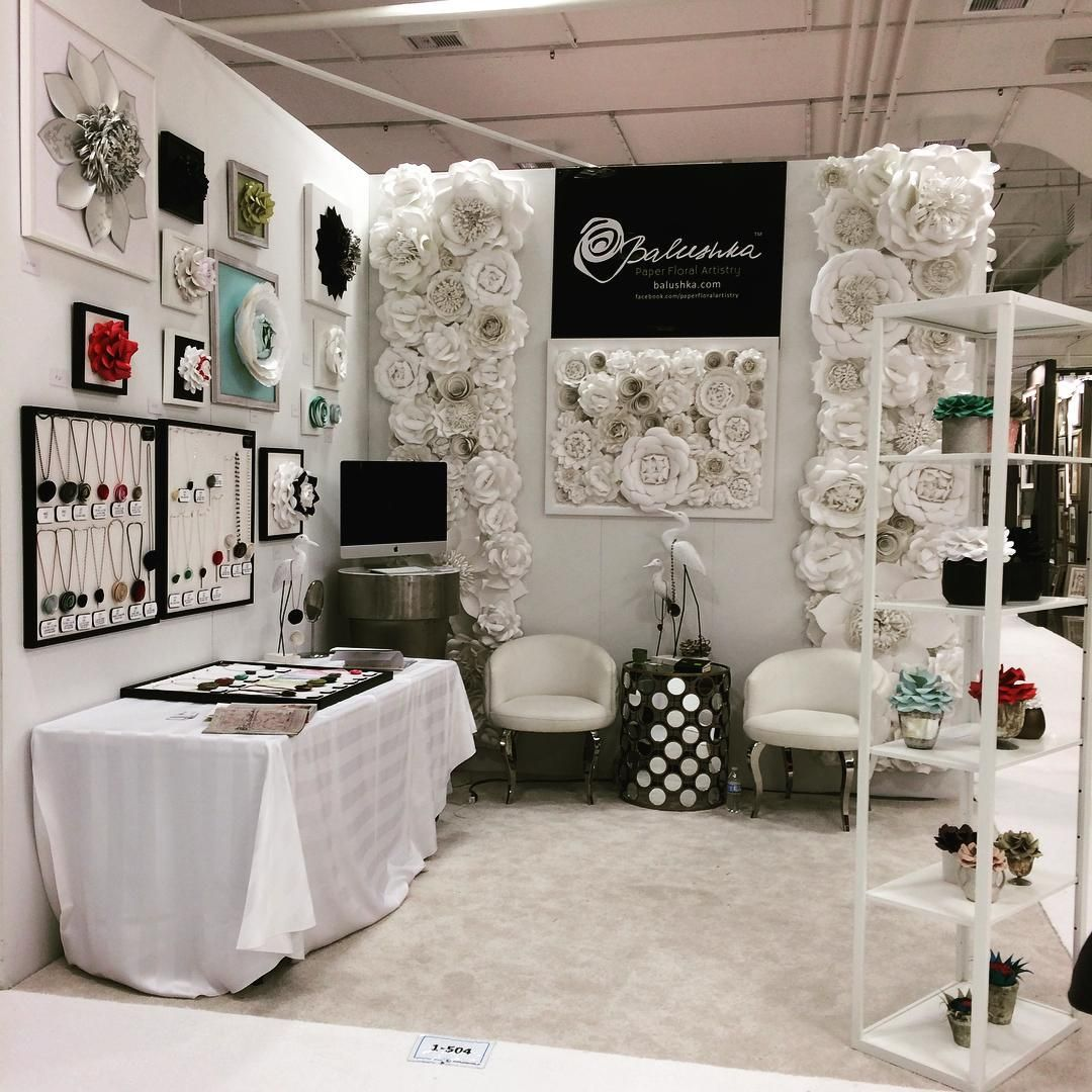Balushka Booth At Atlanta Gift And Home Decor Show Blooming