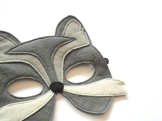 Wolf Kids Mask Children Felt Carnival, Costume Accessory, Dress up, Pretend Play Toy,  Boys, Girls, Toddlers on Etsy, 13,00€