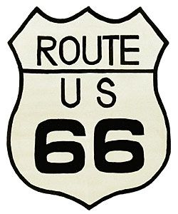 Route 66 Collectible Wool Rug (4' x 5') | Ashtin's Room ...