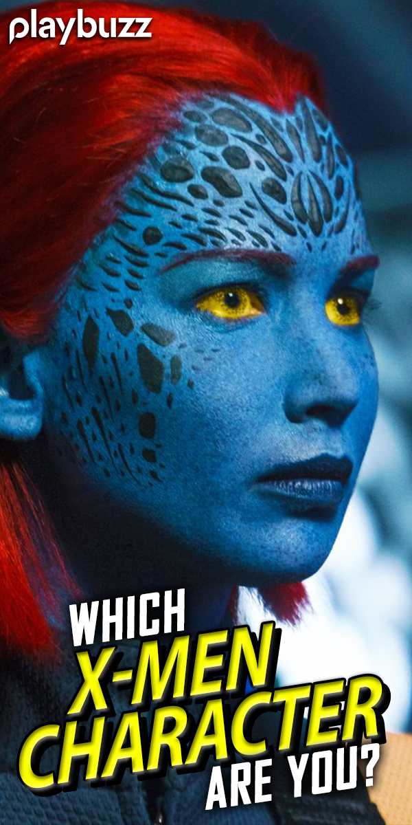 Which X Men Character Are You In 2020 X Men Fun Personality Quizzes Man Character