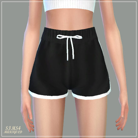 Sims 4 CC's - The Best: Training Shorts by Marigold #toddlershorts
