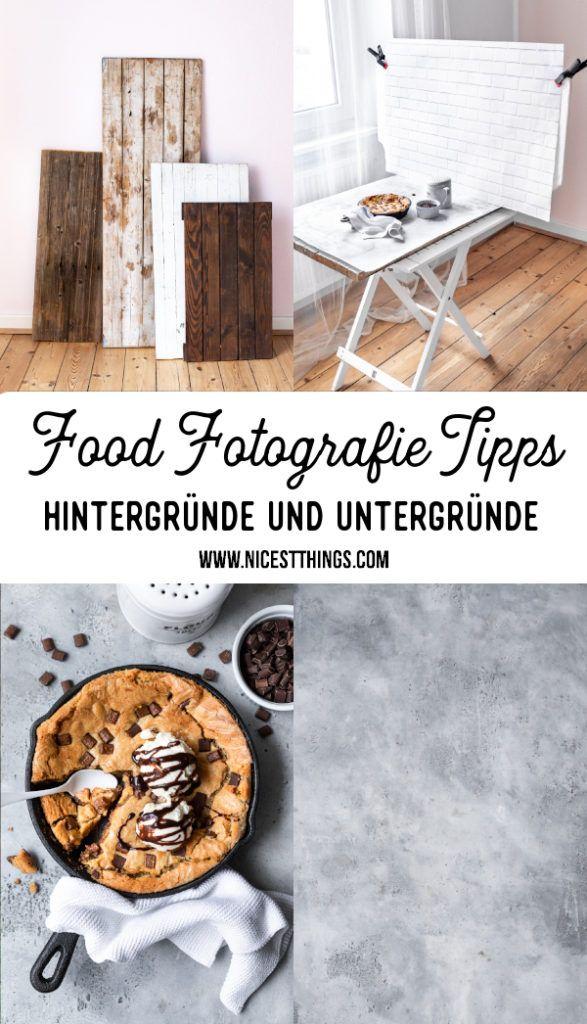 Food Fotografie Tipps Teil 2: Hintergrund und Untergrund - Nicest Things
