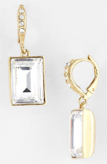 Givenchy Drop Earrings Available At Nordstrom In Silver