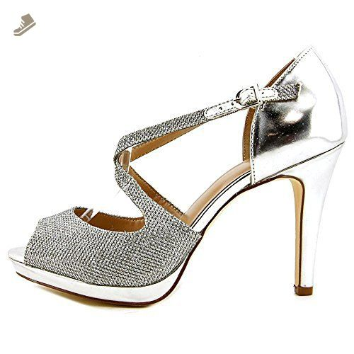 Style & Co. Simmone Women's Heels Silver Size 6.5 M
