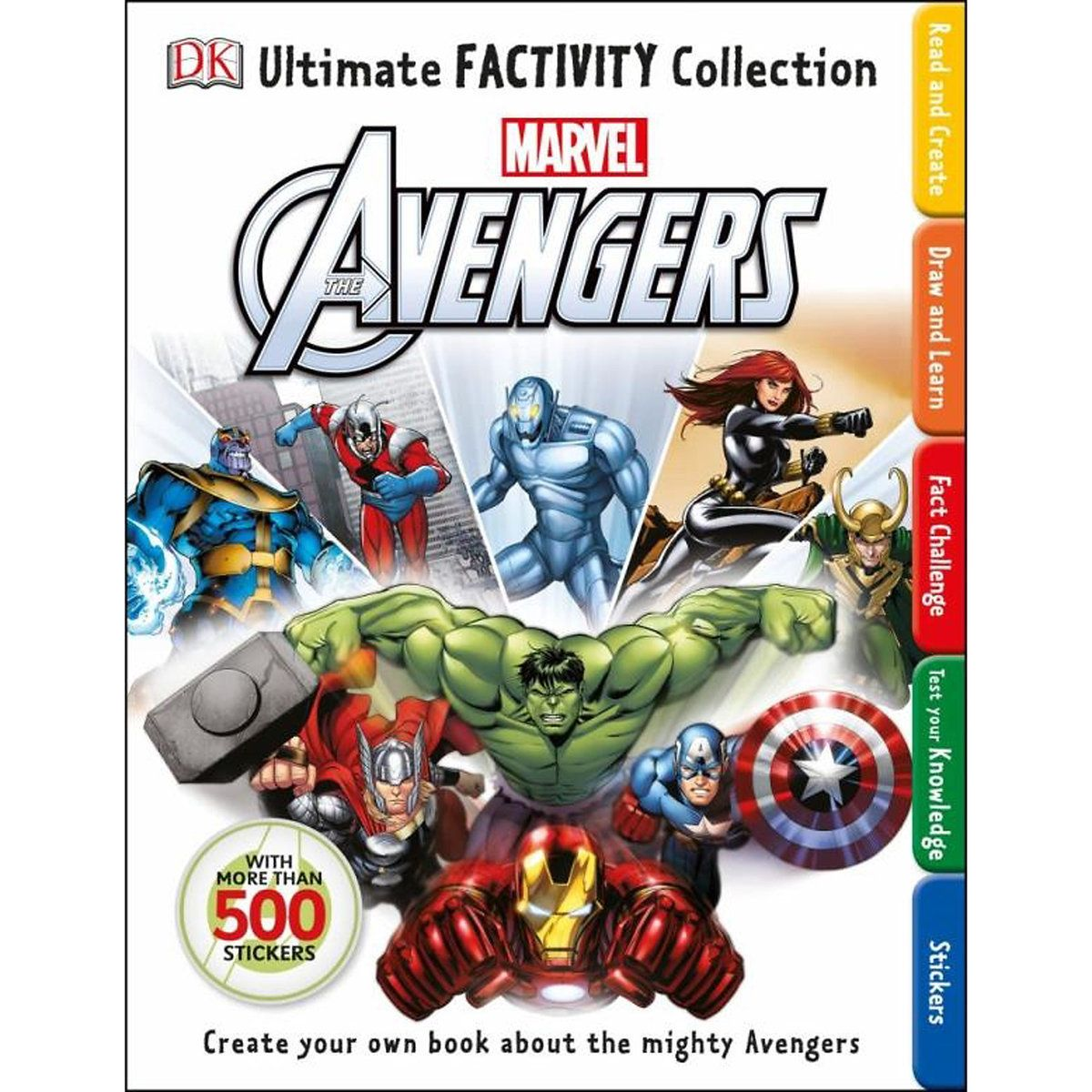 The Avengers Ultimate Factivity Collection With Images