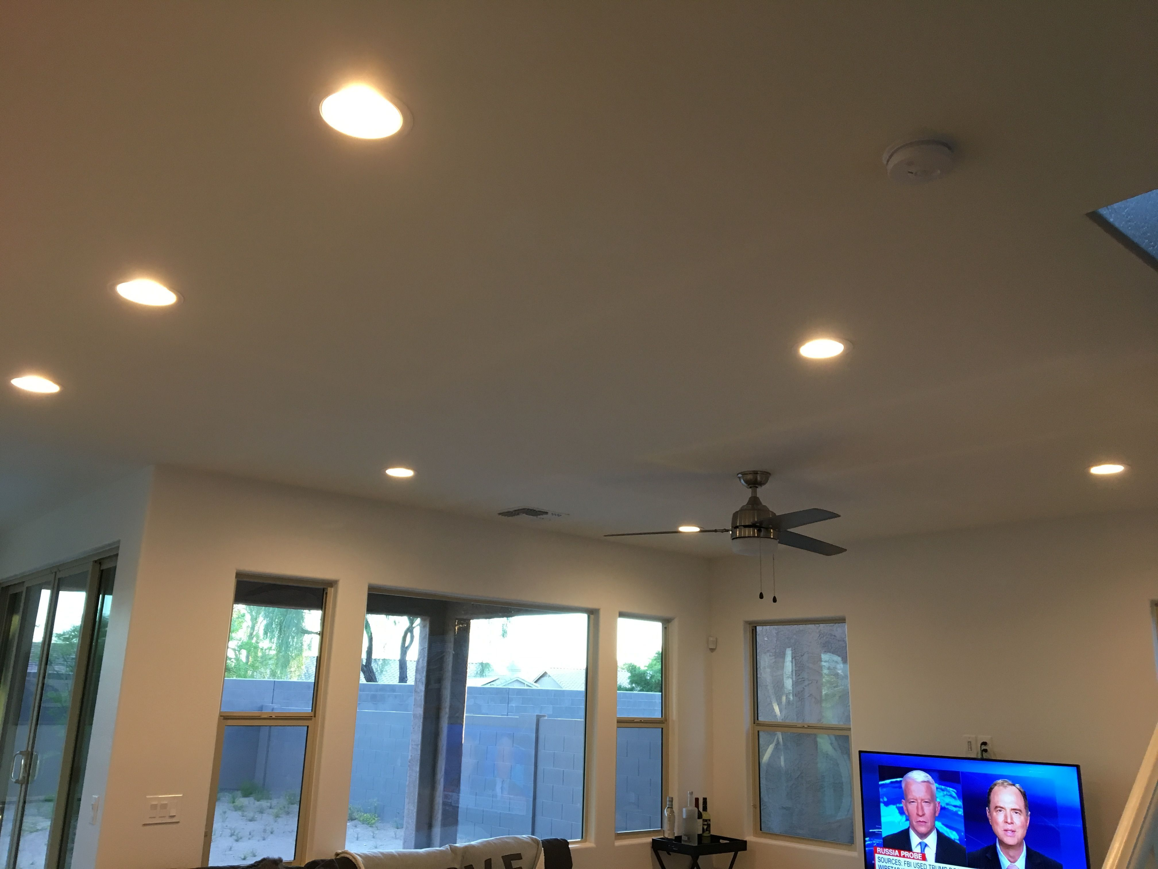 Installed Some New 6 Inch Led Recessed Lighting In The