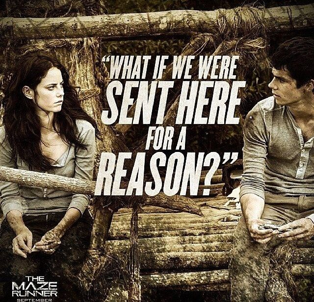 The Maze Runner Thomas and Teresa Movie quote. | #FanGirlForLife