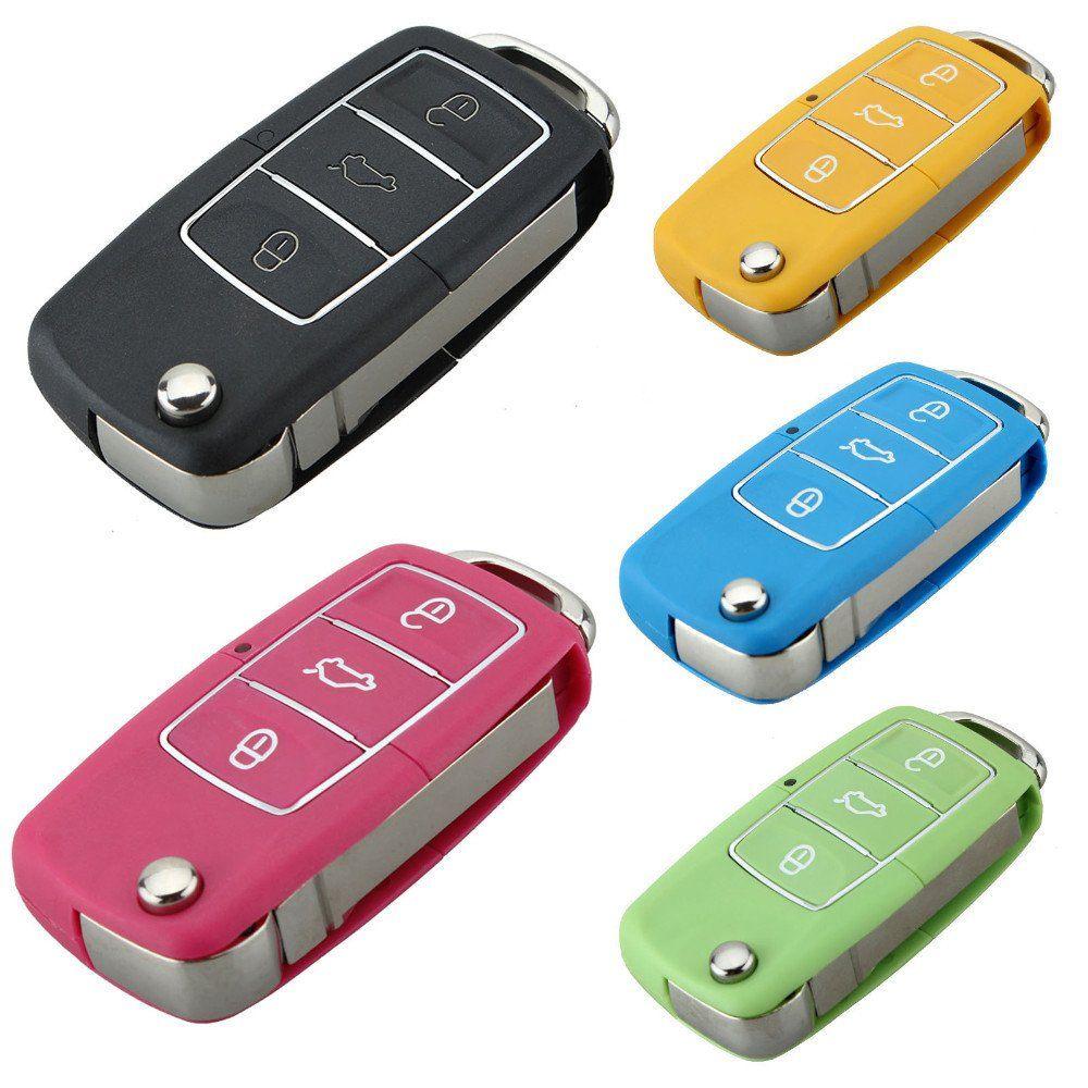 3 Buttons Car Key Cover For Volkswagen Skoda Seat Volkswagen