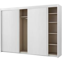 Photo of Armadio con ante scorrevoli 3 ante bianco alpino – bianco – 280 cm – 223 cm – 65 cm – armadi> armadi>