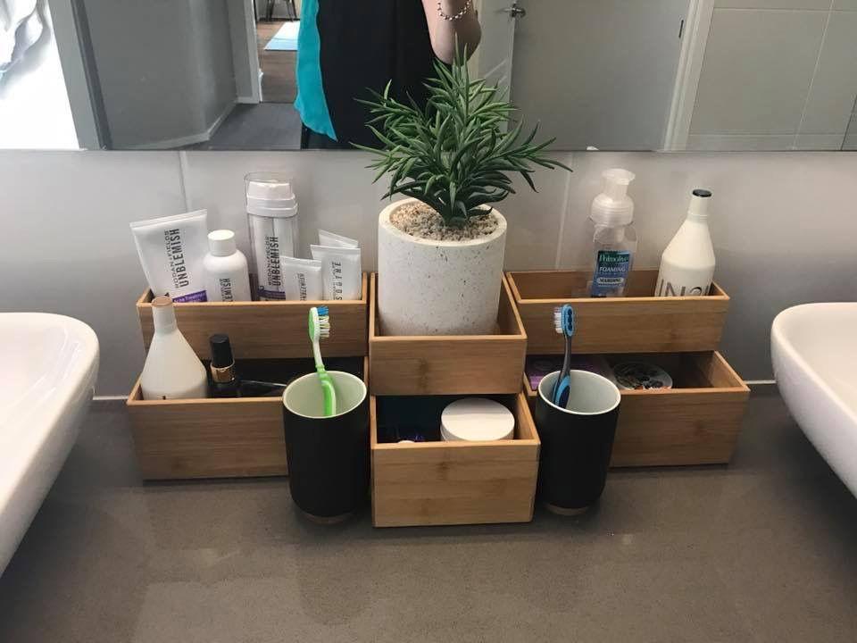 Kmart storage & organization in bathroom | Kmart bathroom ...