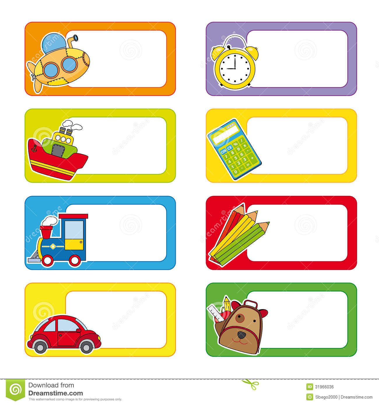 School Labels Download From Over 65 Million High Quality Stock Photos Images Vectors Sign Up For Fr School Labels School Labels Printables School Stickers Name tag template free download