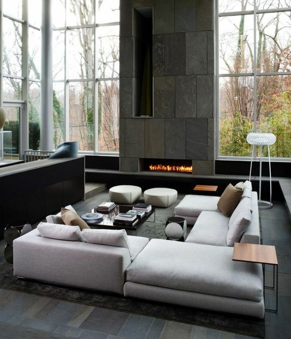 Wohnzimmer modern einrichten - Räume modern zu gestalten, ist ein ...