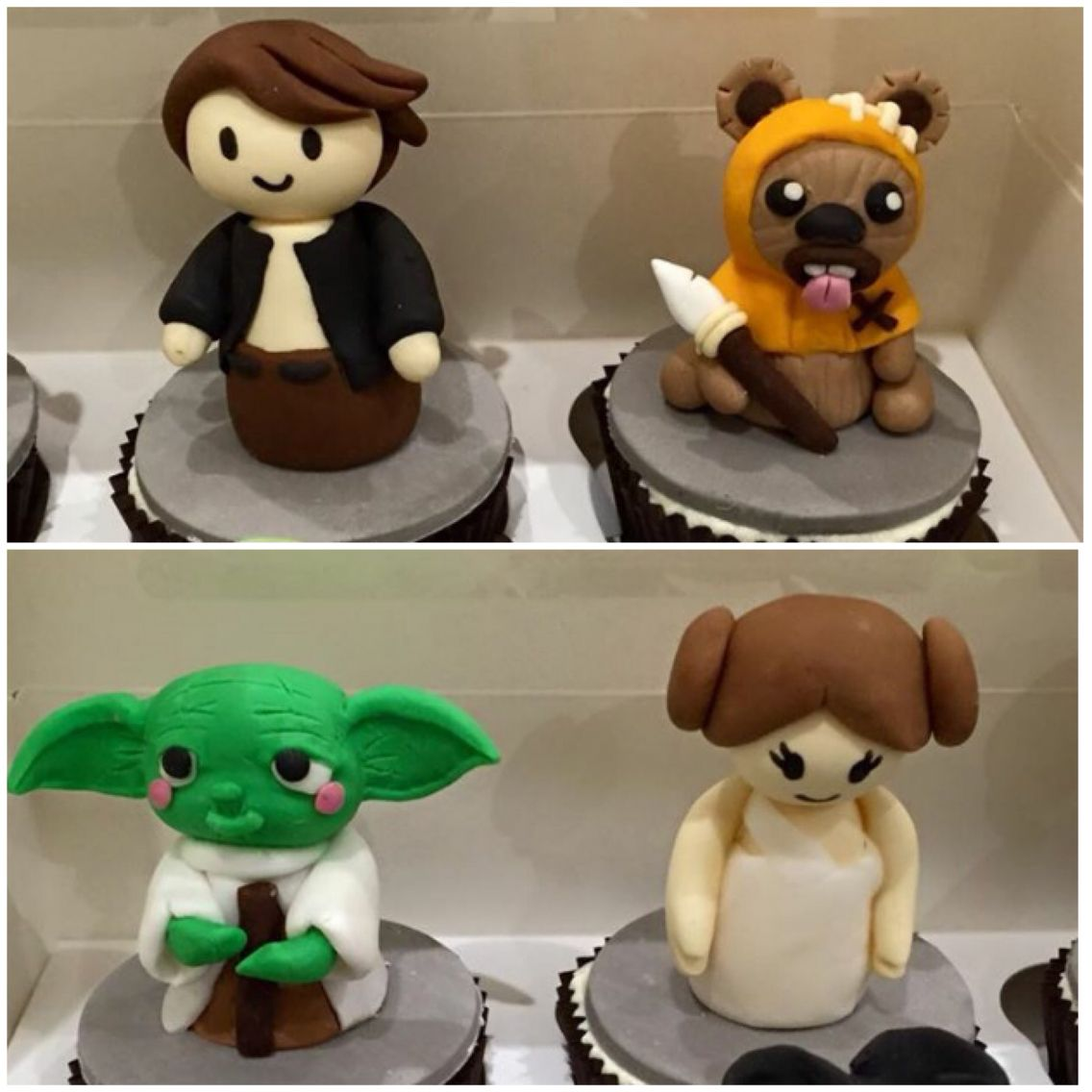 Edible star wars figurines with images star wars