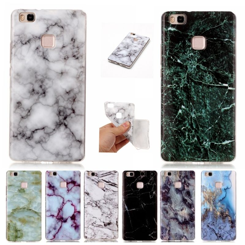 Soft Tpu Granite Marble Stone Image Imd Cover Case For Ascend Huawei