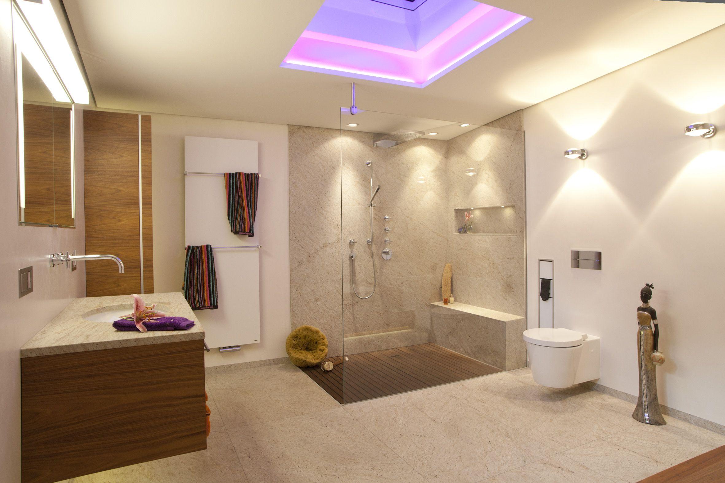 Viele Verschiedene Moderne Designer Badezimmer Die Dekoration