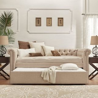 Homevance Vanderbilt Chesterfield Button Tufted Day Bed Kohls Guest Room Furniture Daybed