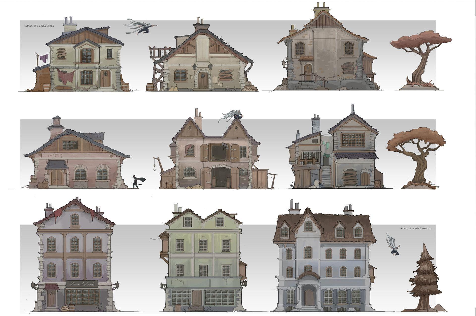 страна, сравнение зданий на картинке рассказывай, давай, все