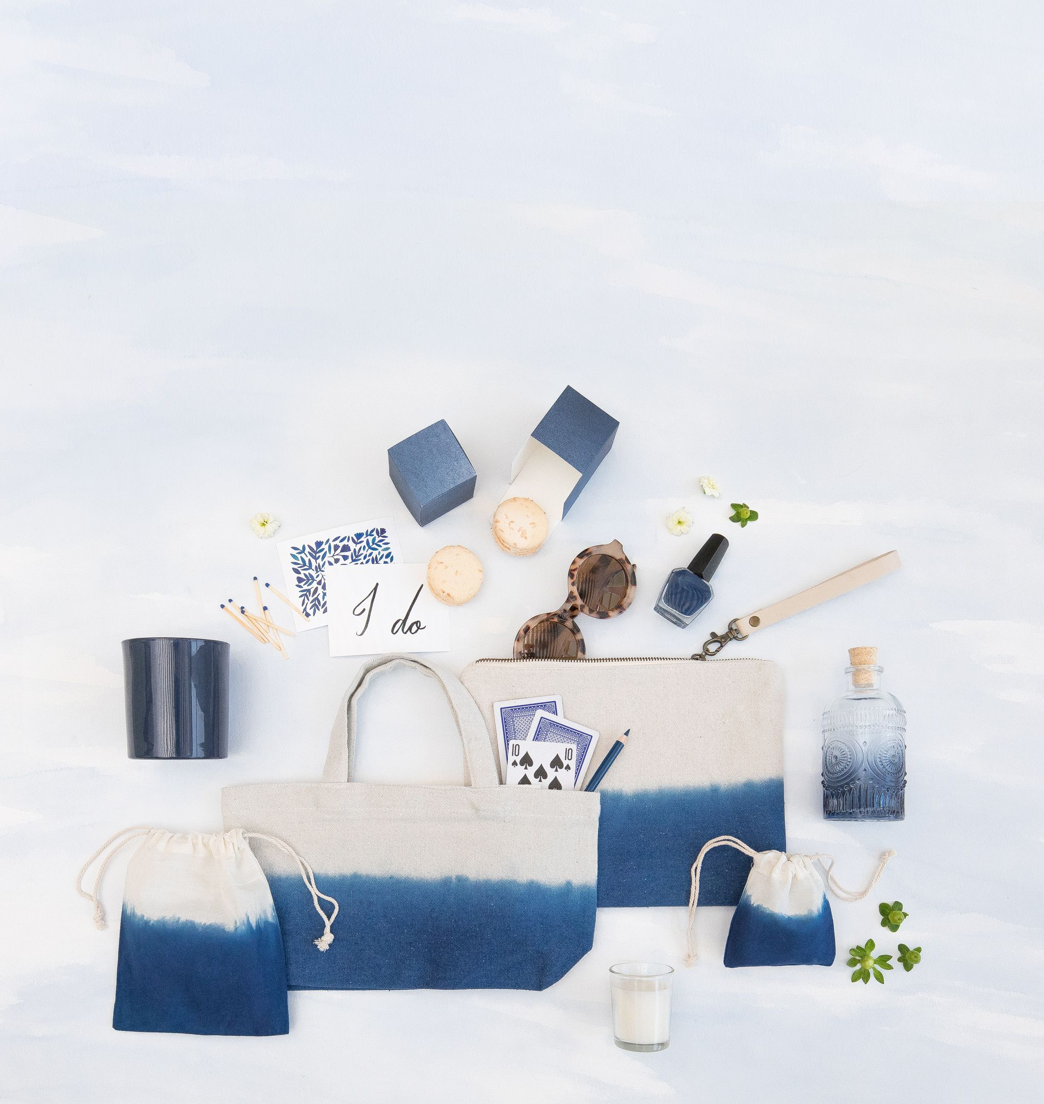 The Minted Weddings Color Library - Navy. Chic wedding favors and ...