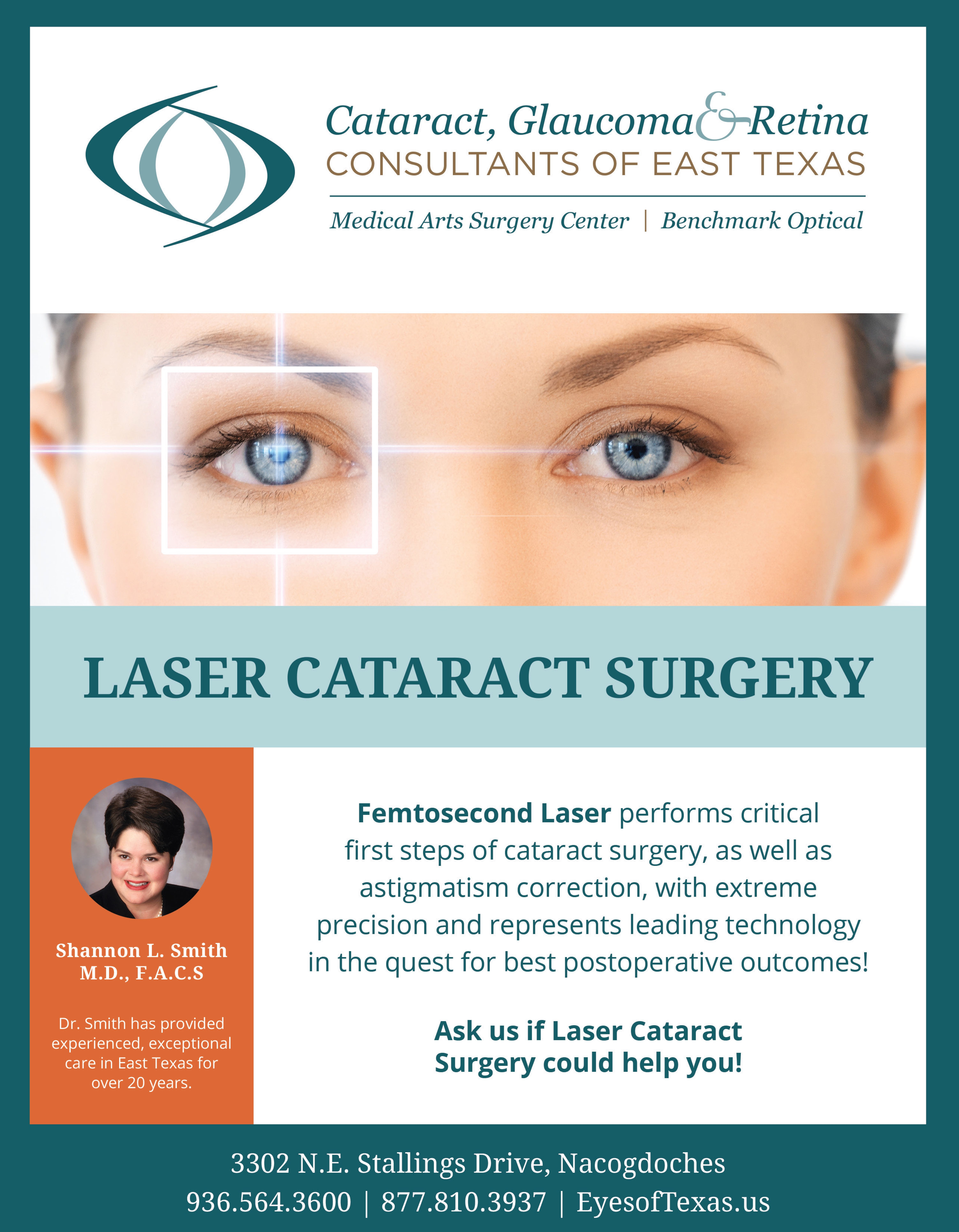 Laser Eye Surgery Flyer Laser Eye Surgery Medical Art Printing Services