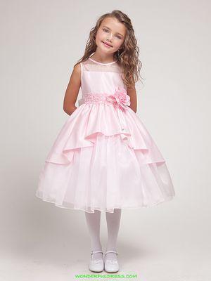 Модные платья- 2016 для девочек: фото и мода на нарядные ...