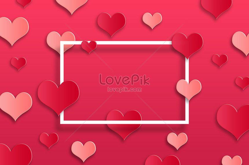 Lovely Valentines Day Background Valentines Day Background