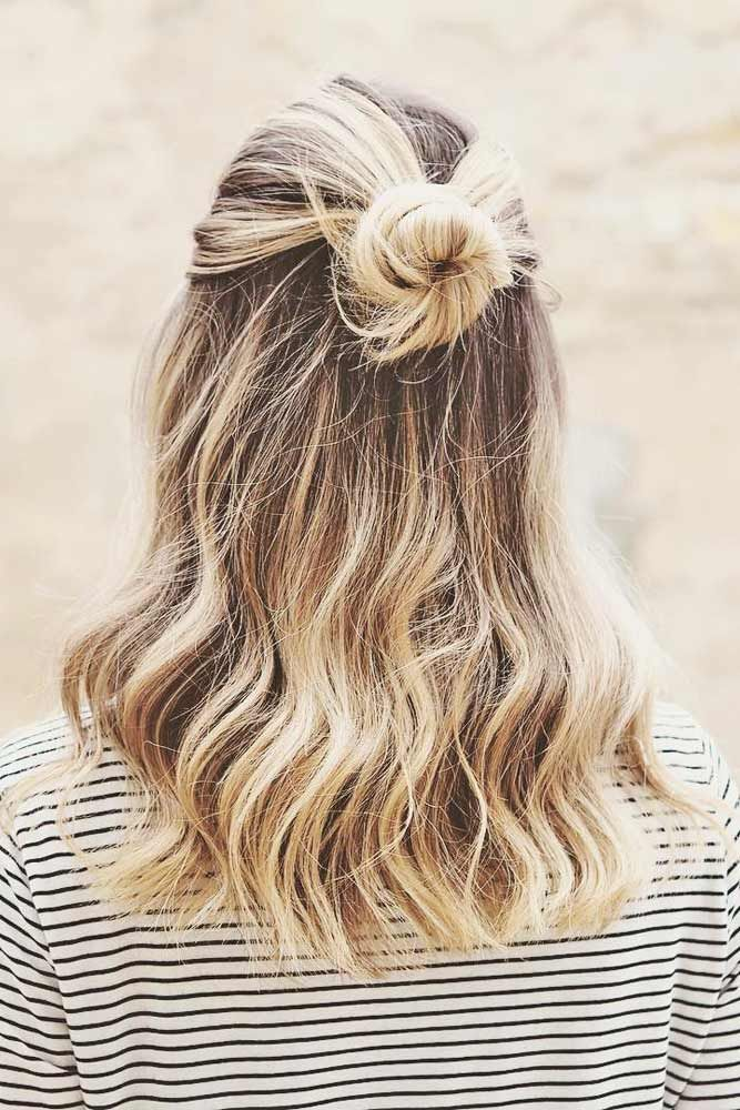 18 Easy Quick Hairstyles For Busy Mornings Cute Medium Length Hairstyles Cute Hairstyles For Medium Hair Hair Styles