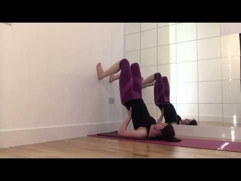 shoulder stand tutorial yoga  youtube • beginner yoga