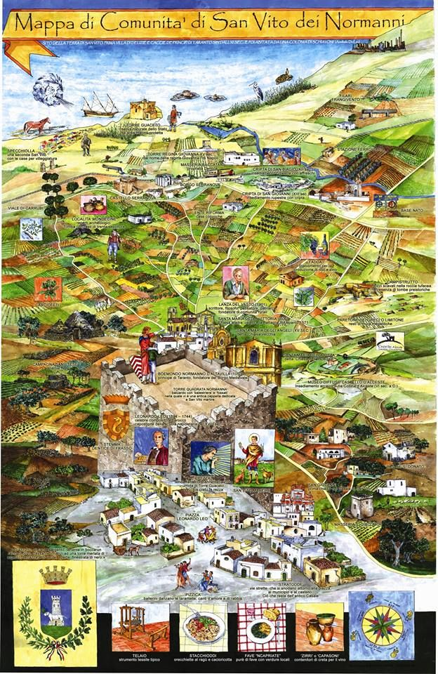 10690142_10204997555172781_8840007934573332311_n.jpg (624×960) Map of San Vito.