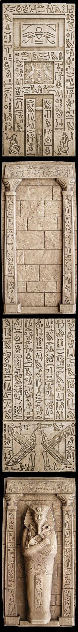 Egypt Isis  Nepthys Hidden Door, Wall with Columns, Isis  Nepthys Wall  Tuts Tomb. With these, you can really make your room look like an Egyptian tomb! Secret of the Mummys Tomb Egyptian Halloween Party Decorations  Ideas More