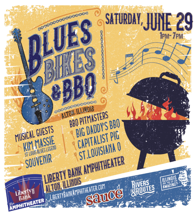 2019 Blues Bikes Bbq Saturday June 29 1p 7p Alton Amphitheater Http Ow Ly Uasg30oxcti With Images Amphitheater Capitalist Pig Edwardsville