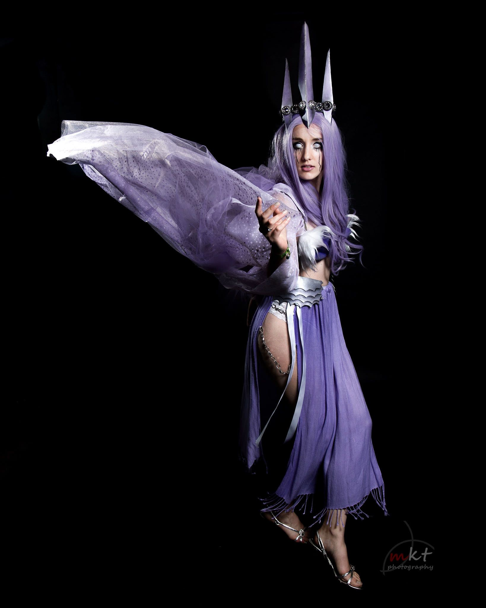 Goddess Venomoth Cosplay (Created by VinylRaven)u00a0,