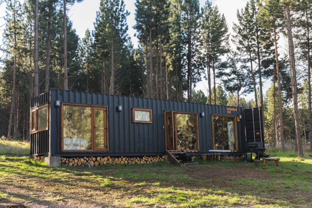 Wonderful Veranda Shipping Container House - USA - Living In A Container