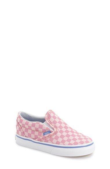 6d9bf6d5682dfb Vans  Classic  Slip-On Sneaker (Baby