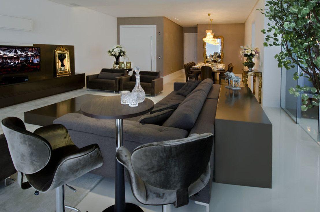 Uma Mans O De Luxo Dentro De Um Apartamento Mans Es De Luxo  ~ Mansões Por Dentro Cozinha