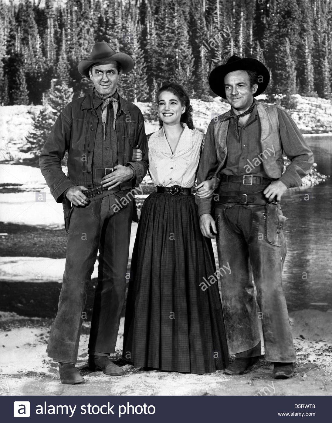 BEND OF THE RIVER (1952) James Stewart Julie Adams