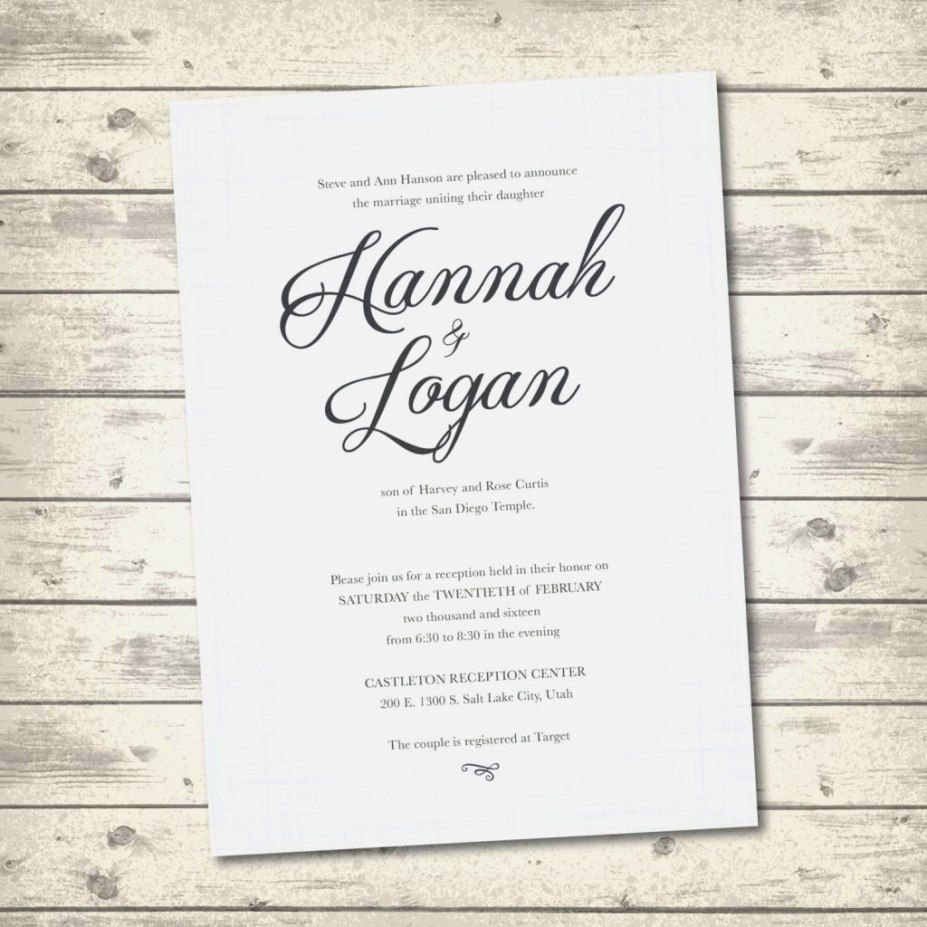 Non Traditional Wedding Invitation Wording And Divine Invitations Fitting Aimed At Giving Ple Di 2020